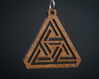 Impossible Geometry Style Pendant