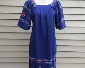 Vintage Guatemalan dress