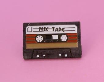 Mix Tape Enamel Pin