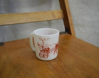 Child's Pyrex Circus Mug