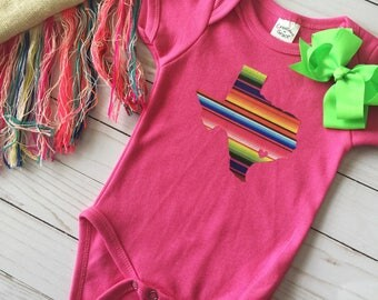 Texas Serape Bodysuit - Baby Serape•Texas Serape•Serape Bodysuit•Baby Shower Gift•Texas Baby•Serape Bodysuit•Baby Gift•Texas Bodysuit