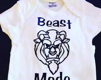 Beast Mode Onesie