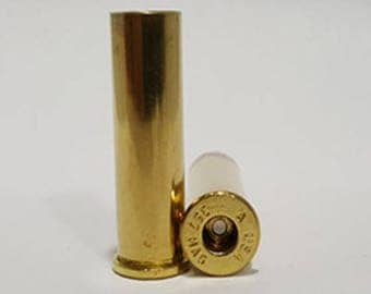 357 Magnum Once Fired Brass For Sale Cleaned/Deprimed. Free Shipping. Pkg of 100/200