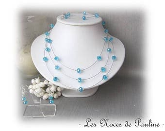 Turquoise Crystal Elisa 3 piece wedding set