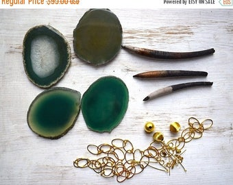 Holiday DIY Necklace, Jewelry Making Kit, Dried Pods , Seeds, Necklace making kit, Woman Rising Jewelry, Goddess Jewelry, Belle Armoire Jewe