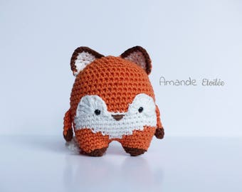 to order - Foxy, cute little Fox to adopt (handmade - crochet)
