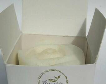 30 x WEDDING FAVOUR SOAP. Natural/ Vegan/ Rose shape Baby Shower/Thank You soap. No Palm Oil. No artificial colours or scents. 2.5 oz.