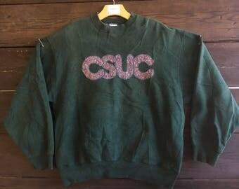 Vintage 90's CSUC Crewneck