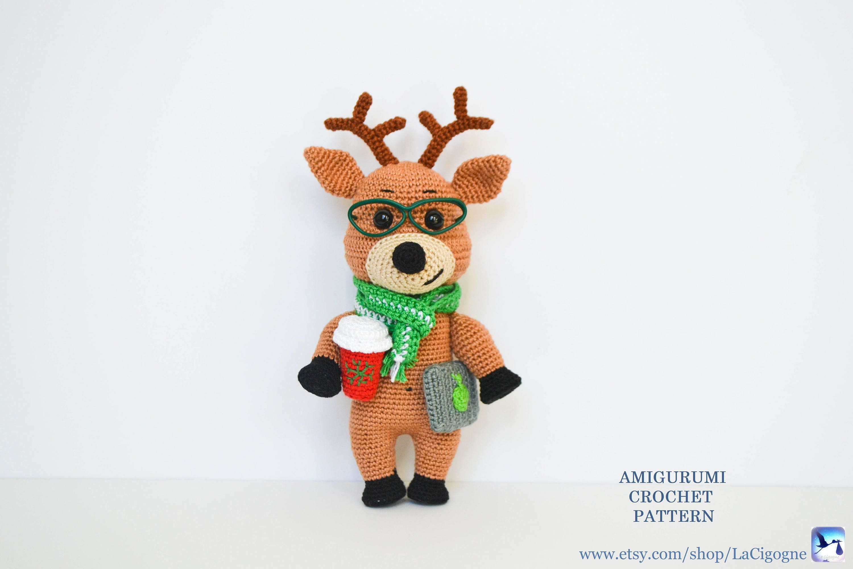 Victor the reindeer pattern fairytale gift reindeer amigurumi zoom bankloansurffo Choice Image
