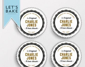 Custom,birthday,cupcake topper,cake topper,edible,Birthday cupcake topper,Birthday cake topper,personalised birthday cake,rice paper,cake