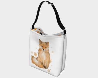 "Shoulder bag ""Fox"" for teacher"