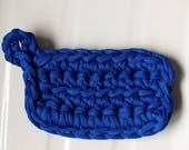 Tawashi éponge Durable  Zéro Déchet Bleu