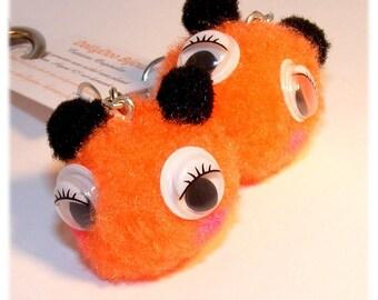 Earrings of a kind Designer [Orange Bloppies]