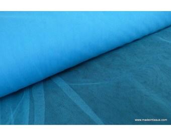 Tulle souple robe de mariée turquoise en 3.00m de large x50cm
