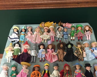Madame Alexander McDonalds Dolls, 34 available, many with original tags