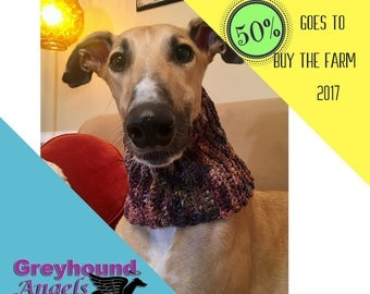 Greyhound cowl Etsy