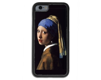 Girl With A Pearl Earring, Classic Painting, Johannes Vermeer iPhone 6/6s/7 Case