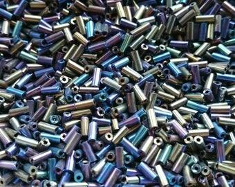 20 g seed beads tubes rainbow color