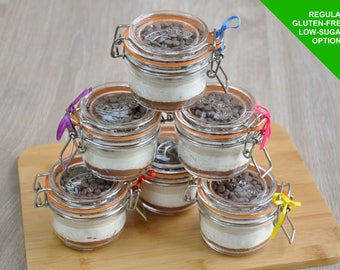 Mug cake refill, sweet tooth, sweet treat, cake in a cup, cake gift, baking kit, microwave chocolate chunks cake, cake lover, cake monster