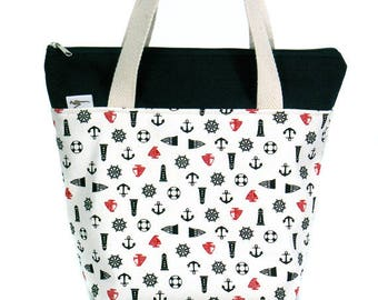 20% Off [ Orig. 19.99 ] Lunch bag, Waterproof tote, Canvas Lunch bag, Reusable bag, Insulated lunch tote, Picnic Tote, Gift