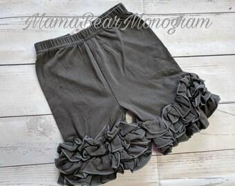 Girls ruffle shorts, Ruffle shorts, ruffle shorties, girls shorts, girls ruffle shorts, girls icing shorts, triple ruffle shorts,