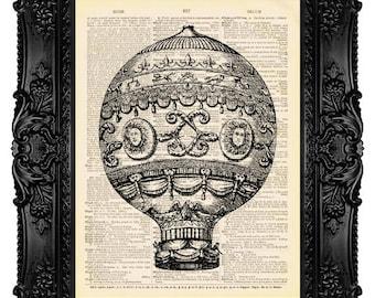 Hot Balloon Print, Hot Air Balloon, Balloon Print, Mens Gift, Gifts For Husband, College Dorm Print, Girlfriend, Boy Birthday Poster 72