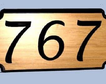 carved address sign etsy