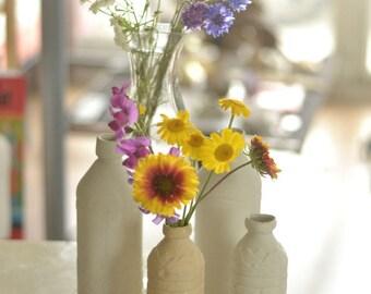 imitation bottle vase