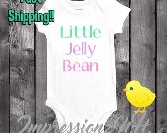 Little jelly bean - Easter baby onesie