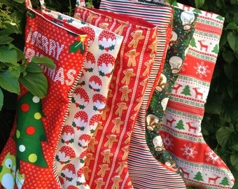 Christmas Stockings hand made