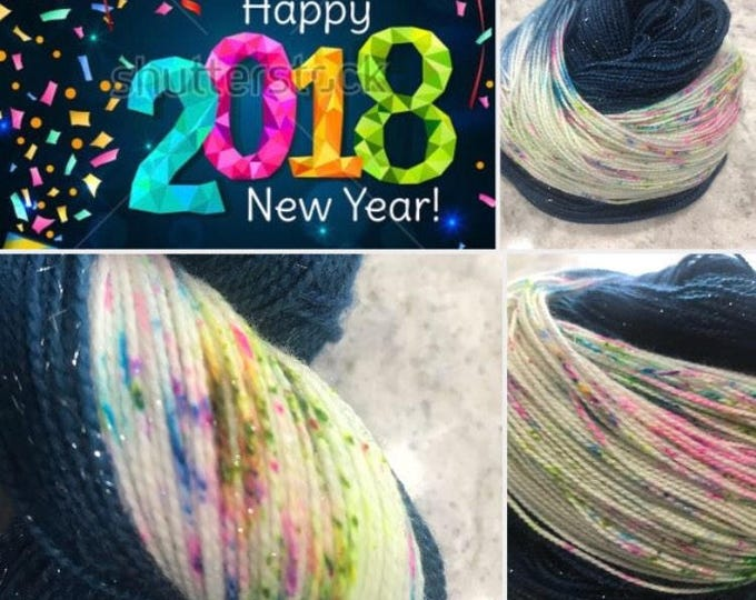 DTO- 2018 New Year! Sparkle Fingering weight
