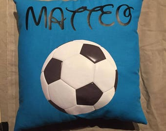 Pillow personalized with the name of your choice