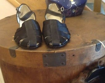 1940s CC41 Black Shoes