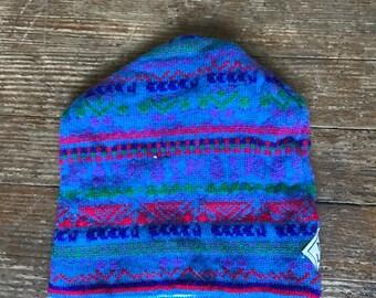 Vintage Handmade Murray Merkley Ski Cap