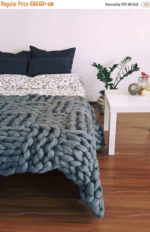 auf verkauf chunky decke merino werfen stricken riesige decke. Black Bedroom Furniture Sets. Home Design Ideas