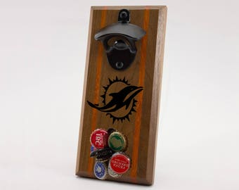 Miami Dolphins Magnetic Bottle Opener