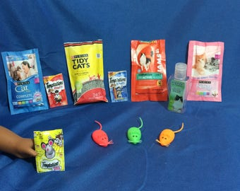 lot#11 Cat/Kitten items for your American Girl doll or other 18 inch doll's kitten