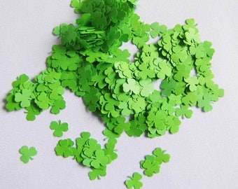 Confetti Clover Confetti Clover Confetti Partydeko Confetti Green