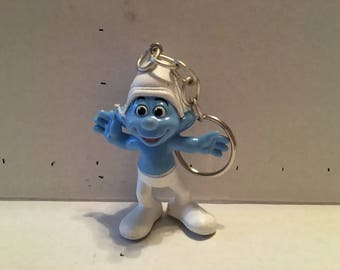 The Smurf's Crazy Smurf Keychain