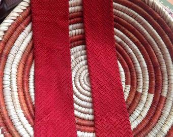 1940s 1950s jacquard knit tie/vintage tie/golden era/men's vintage/1940s tie/1950s tie/wedding/vintage tie/
