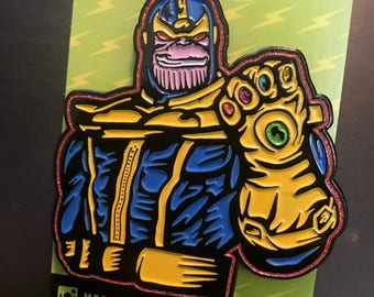 Thanos, Infinity Gauntlet Pin