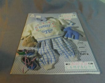 Knitting Patterns, Patons Sweet Country Baby 538, Sweaters, Outfits, Hats, Toys