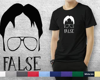 False - The Office Tribute T-Shirt