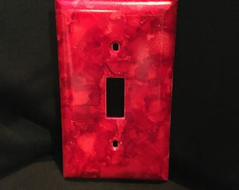 Custom double light switch, switchplate, light switch cover