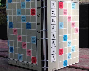 Scrabble Board Unlined Notebook/Journal/Sketchbook