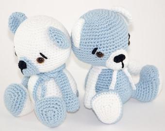 Twin Bears - Crochet Toys