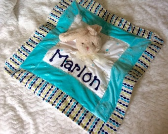 Personalized Minky Security, Lovie Blanket