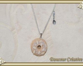 Beige paris brest 102023 necklace