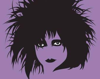 Siouxsie Sioux Tea Towel The banshees