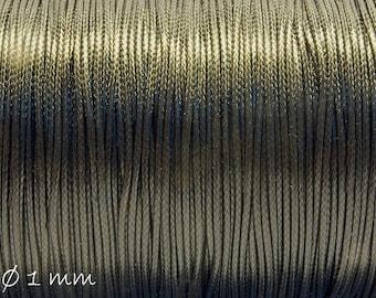 Designed, black (smooth), Ø 1 mm